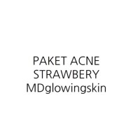 (Satuan) paket acne strawberry MDGLOWING