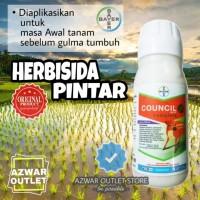 Herbisida pintar (biji gulma) untuk padi council 300 sc complete 100ml