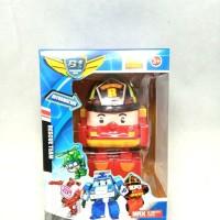 Mainan Anak Rescue Team Robocar Poli Roy Transform 9009C KP
