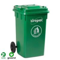 KIRAPAC Tempat Sampah / Dust Bin Besar 100 Liter (By Gojek / Grab)