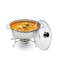 warmer stove prasmanan bulat / tempat makanan prasmanan bulat 28 cm