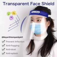 Face Sheild medis transparan tebal