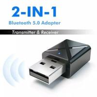 Bluetooth transmitter reciever 5.0 wireless 2 in 1 audio portable