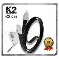Kabel Data LANYARD K2 PREMIUM QUALITY MICRO USB 2.4A
