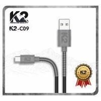[GROSIR] Kabel Data SPRING K2-C09 K2 PREMIUM QUALITY TYPE C 2.4A