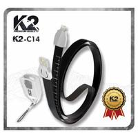 Kabel Data LANYARD K2-C14 PREMIUM QUALITY IPHONE 2.4A