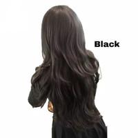 Fashion Women Wig Sexy Long Curly Wavy Wig Panjang Bergelombang Keriti