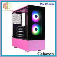 Casing PC CUBE GAMING CABAZON PINK - ATX - TEMPERED