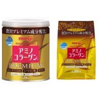 Meiji Amino Collagen Premium Gold / Meiji Kolagen Kaleng dan refill - Refill