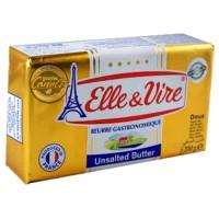 Elle&Vire Unsalted Butter 200gram, Premium Quality, Best Seller
