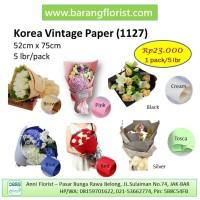 Vintage Paper (1127) 5 lbr/pack, Aksesoris toko bunga, kertas buket