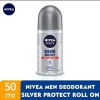 NIVEA MEN Deodorant Silver Protect Roll On 50ml Exp 03/2022