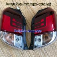 Lampu Stop Belakang Toyota New Agya / Ayla Asli Tahun 2017 Keatas