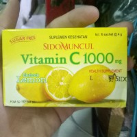 Vitamin C 1000 mg / box sidomuncul