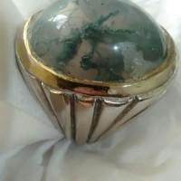 batu cincin lumut suliki kristal