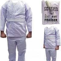 baju karate anak frasser mga ukuran 3,4,5,6