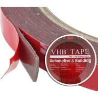 SINTE 3M VHB Double Tape 12mm x 4.5m Otomotif Bangunan Kuat Tahan Lama