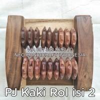 Alat pijat kaki dari kayu Rol isi 2