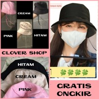 READY STOCK Topi Corona Import Antivirus droplet Blocking Hat/Mask Hat