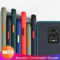 Xiaomi Redmi Note 9 Pro Note 9s Shockproof Transparent Matte Case
