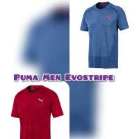 Puma Mens Shirt Kaos Olahraga Running Pria Lengan Pendek Original