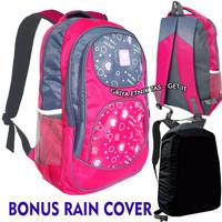 Tas ransel anak sekolah Perempuan SD SMP Wellbag Gratis Rain Cover