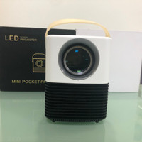 L7 Mini android Proyektor/Projector with wifi bluetooth Flashdisk1080P - Android