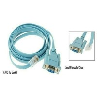 Kabel Serial DB9 F (RS232) To LAN RJ45