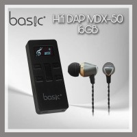 BASIC Hifi DAP MDX-50 16 GB - BLACK