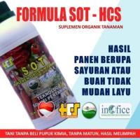 SOT HCS Pupuk Organik Cair untuk cabe,padi,buah, Sayuran,bunga Tanaman