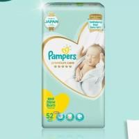 termurah pampers premium care tape perekat NB 52 nb52