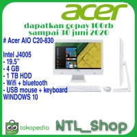 PC AIO ACER C20 830 Intel J4005 4GB 1TB All in one PC