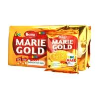 PACK Mayora Roma Marie Gold Biskuit Marie Roma Susu - 12pcs x 20gr