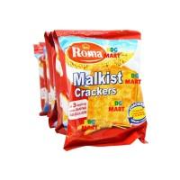 RENCENG Roma Malkist Crackers Biskuit Dengan Taburan Gula - 10pcsx27gr