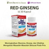 Sidomuncul Red Ginseng untuk Meningkatkan Stamina 30 Kapsul