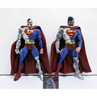 Action Figure / Pajangan / Mainan Superman Cyborg DC Set