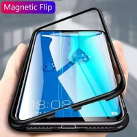 REALME NARZO MAGNETIC CASE TEMPERED GLASS BACK COVER
