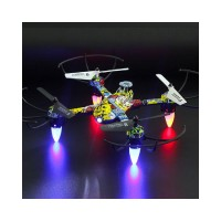 4 Channel RC Drone Mini Headless Mode Helicopter 2.4G 6-Axis Real-Time