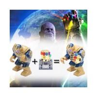 Marvel The Avengers Thanos Infinity Gauntlet Minifigures Lego Compatib