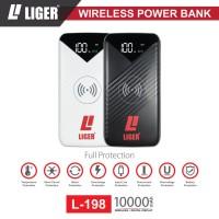 Power Bank Liger Wireless L-198 10000mAh with Digital Display