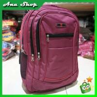 Backpack Polo Pria Wanita Tas Gendong Cowok Cewek Sekolah SMP SMA Tas