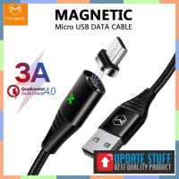 Mcdodo Micro 1.2m Magnetic Data Cable Quick Charging QC4.0 with Led