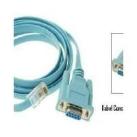 Kabel Serial DB9 Female RS232 To LAN RJ45