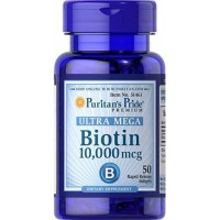 biotin 10.000 mcg isi 50 /puritans pride 10000 mcg rambut