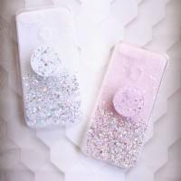 YKCS 0298 oppo a12 oppoa12 soft case jelly glitter cover back casing