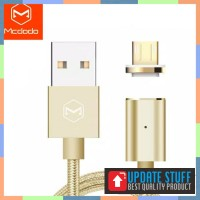 Mcdodo Magnetic 1.2m Micro USB Data Kabel Fast Charging