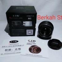 Lensa 7artisan 25mm F1.8 M43 Olympus dan Panasonic last stok