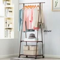 Stand Hanger Triangle Buku / Rak Pakaian / Rak Baju / jemuran berdiri