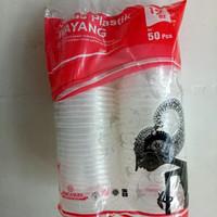 Gelas Plastik Wayang ukuran 12-16 0Z
