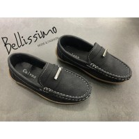 Sepatu Pantofel Anak Laki-laki BSM-4.3 - 31, Hitam
